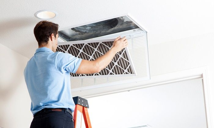 You benefit if air ducts are clean